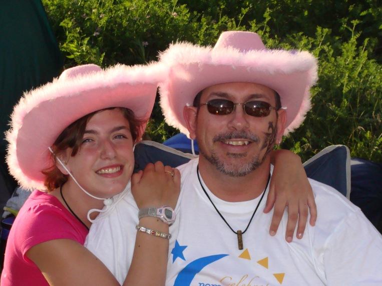 Rebecca and Daddy