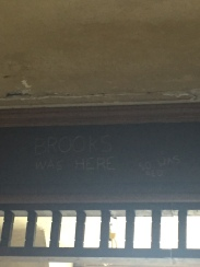 """Brooks Was Here"""