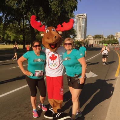 Look who ran with us!