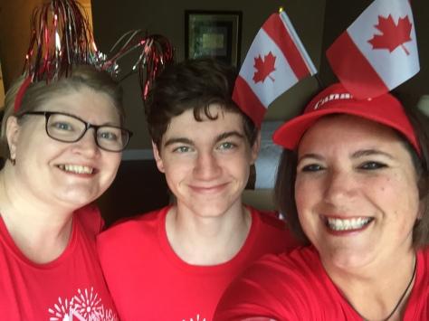 Proud Canadians