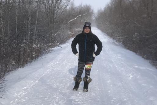 run or hike...doesn't matter