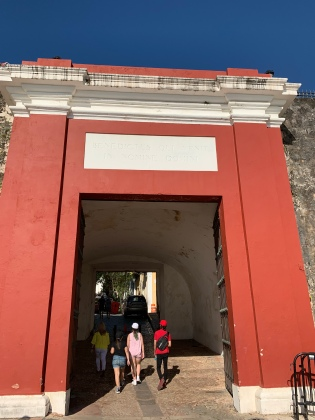 Gate to Old San Juan